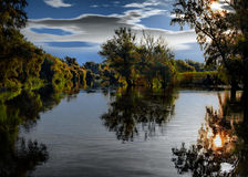 Il delta fantastico del Danubio Fotografia Stock