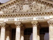 Il DEM deutschen il volke Immagine Stock Libera da Diritti