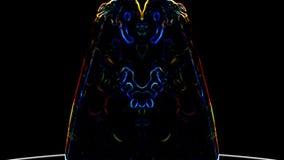 Il demone ha spanto le sue ali video d archivio