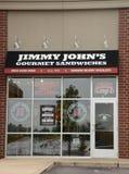 Il deposito di Jimmy John Fotografie Stock