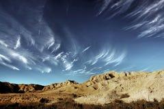 Il deserto Fotografie Stock Libere da Diritti