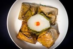 Il dessert cotto a vapore del nuovo anno cinese Fotografia Stock Libera da Diritti