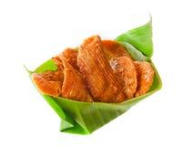 Il dessert tailandese ha chiamato il krob-kem o il caramello pasticceria croccante Fotografia Stock Libera da Diritti