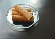 Il dessert tailandese ha chiamato la cinghia muan Fotografie Stock