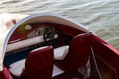 Il dettaglio della barca si siede fotografia stock