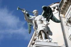 Il dettaglio sulla st segna la basilica 2 Fotografia Stock Libera da Diritti