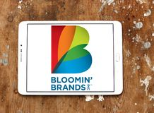 Il ` di Bloomin marca a caldo il logo della società Fotografia Stock Libera da Diritti