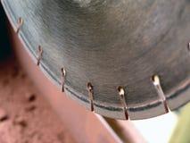 Il diamante la lama per sega Fotografia Stock Libera da Diritti
