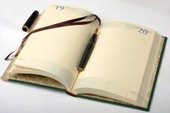 Il diario Immagine Stock