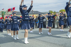 Il diciassettesimo di può, la festa nazionale della Norvegia Immagine Stock