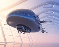 Il dirigibile illustrazione vettoriale