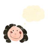 il disegno del bambino di una donna felice royalty illustrazione gratis