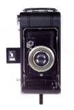 Il dispositivo di piegatura dell'annata muggisce la macchina fotografica Immagini Stock Libere da Diritti