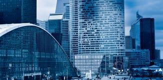 Il distretto aziendale della difesa della La di Parigi Immagini Stock