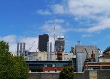 Il distretto aziendale a Melbourne Immagini Stock Libere da Diritti