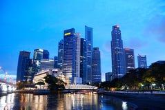 Il distretto aziendale, Singapore Fotografia Stock