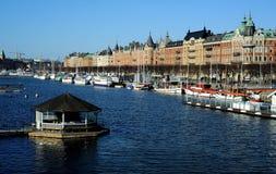 Il distretto del filo, Stoccolma, Svezia Fotografia Stock