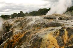 Il Distretto di Rotorua Nuova Zelanda immagini stock