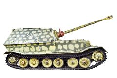 Il distruttore di carro armato pesante tedesco Ferdinand ha isolato fotografie stock