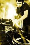 Il DJ Immagine Stock Libera da Diritti