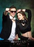Il DJ Fotografia Stock