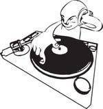 Il DJ Illustrazione di Stock
