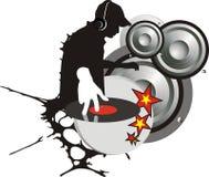 Il DJ Immagini Stock Libere da Diritti