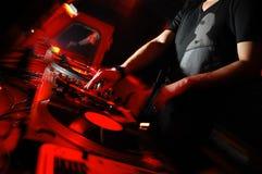il DJ Fotografie Stock