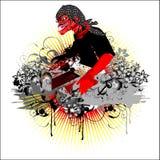 Il DJ Cepot Fotografia Stock Libera da Diritti