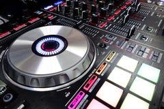Il DJ consola Immagine Stock