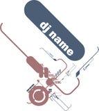 Il DJ copre illustrazione di stock