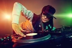 Il DJ d'avanguardia Immagine Stock