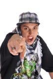 Il DJ Freaky Immagini Stock Libere da Diritti
