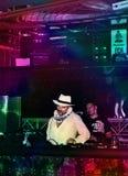 Il DJ Gigi Agostino Fotografia Stock