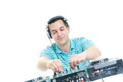 Il DJ party Immagini Stock Libere da Diritti