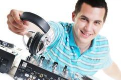 Il DJ party Immagini Stock