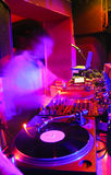il DJ s pronta Immagine Stock