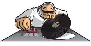 Il DJ Saka Fotografia Stock Libera da Diritti