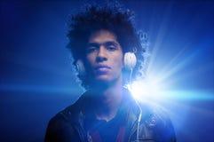 Il DJ sicuro Fotografia Stock Libera da Diritti