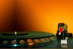 Il DJ - Strumenti immagini stock libere da diritti