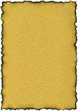 Il documento di colore dell'oro - scintille Fotografie Stock
