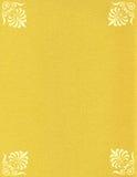 Il documento di colore dell'oro - scintille Fotografia Stock