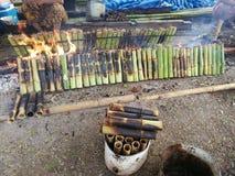Il dolce della Cambogia ha chiamato & x22; KroLan& x22; immagine stock