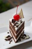 Il dolce di cioccolato immagini stock