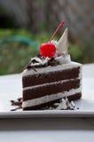 Il dolce di cioccolato fotografie stock