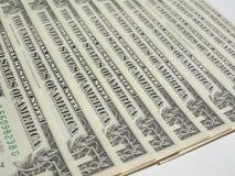 Il dollaro nota 1 dollaro Immagini Stock