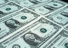 Il dollaro nota 1 dollaro Immagine Stock Libera da Diritti