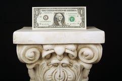 Il dollaro onnipotente Fotografia Stock Libera da Diritti
