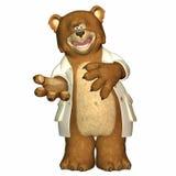 Il dottore Bear Fotografia Stock