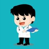Il dottore Character Fotografia Stock